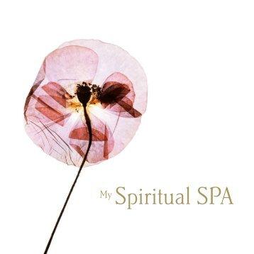 Spiritual SPA Broschüre englisch