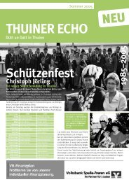 Die Kriegszeit und das Kriegsende in der Gemeinde Thuine