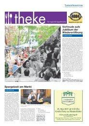 THEKE Mai 2017 | Der regionale Appetitmacher
