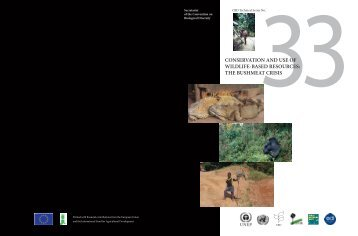 Conservation and use of wildlife-based resources : the ... - CIFOR