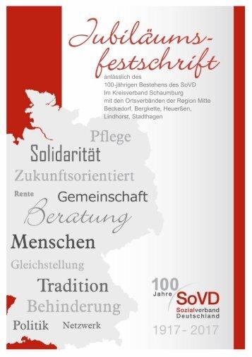 Festschrift 100 Jahre SoVD