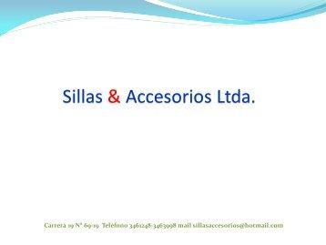 CATALOGO SILLAS & ACCESORIOS LTDA 1