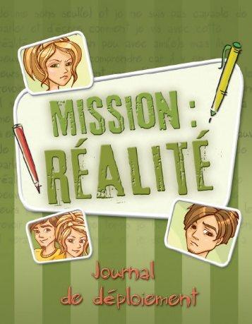Journal Mission : Réalité