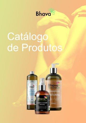 Catálogo de produtos Bhava Biocosméticos
