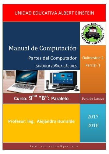 Manual de Computación- Partes del Computador