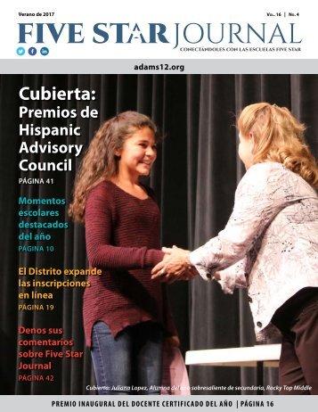 Spanish 2017 Summer Five Star Journal