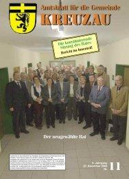 Amtsblatt Nr. 11/2009 vom 27.11.2009 - Gemeinde Kreuzau
