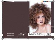 Catalogo Maybilline_Impressão