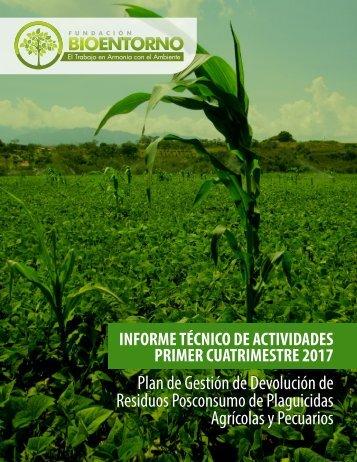 INFORME TECNICO DE ACTIVIDADES BIOENTORNO 1-2017