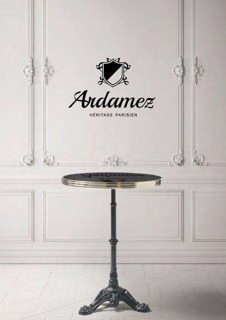Ardamez Bistro Table Catalog