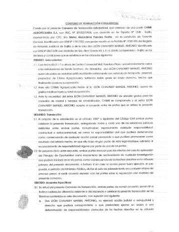 Convenio extrajudicial- Accdente Bus CBA.