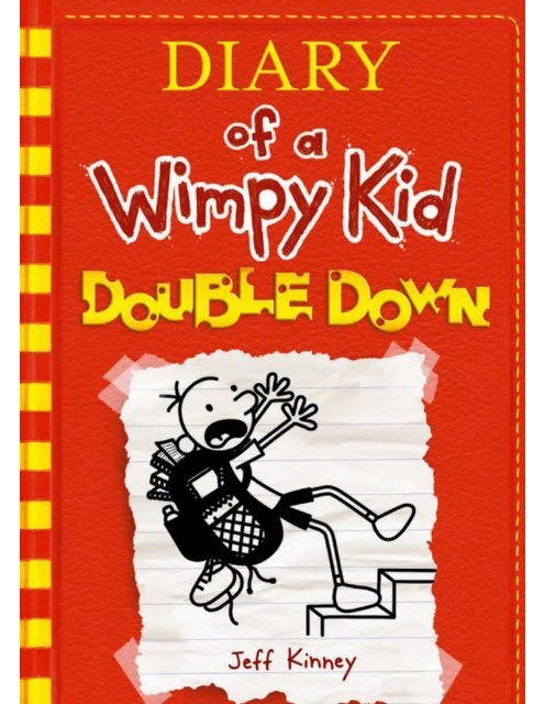 Double Down By Jeff Kinney Diary Of A Wimpy Kid 11