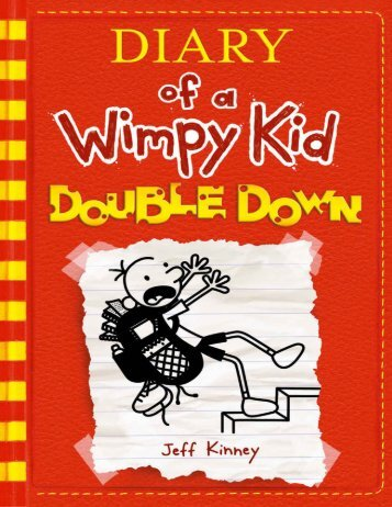 Double Down by Jeff Kinney (Diary of a Wimpy Kid 11) (retail)