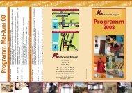 Program m Mai-Juni 08 - Kulturverein Berg