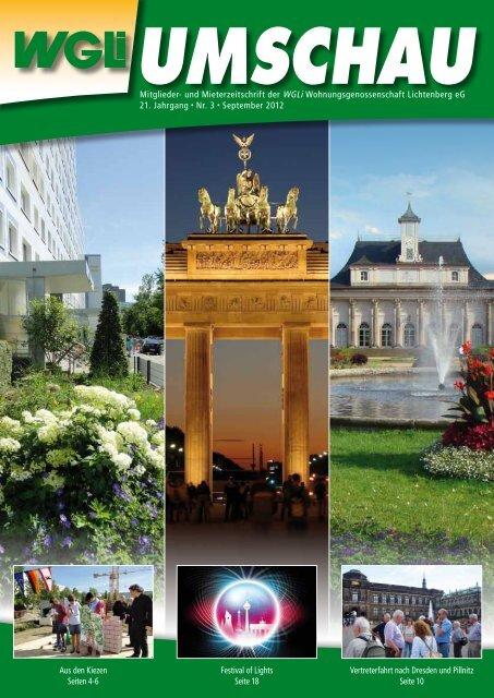 Festival of Lights Seite 18 Vertreterfahrt nach Dresden und Pillnitz ...