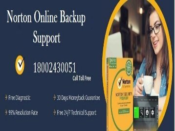 1 (800) 204-4122 Norton Online Backup Support Number
