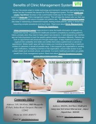 Benefits of Clinic Management System