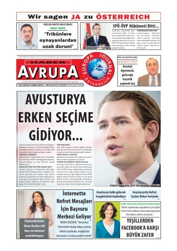EUROPA JOURNAL - HABER AVRUPA MAI 2017