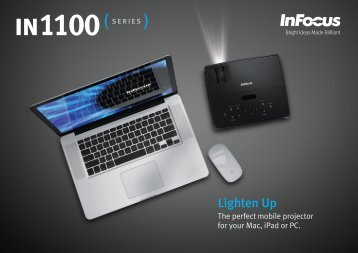 InFocus IN1100 Series Datasheet