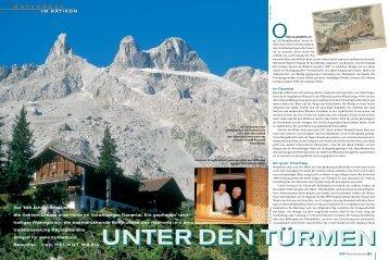 UNTER DEN TÜRMEN - Deutscher Alpenverein