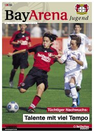 Jetzt online bestellen: www.teldafax.de - Bayer 04 Leverkusen
