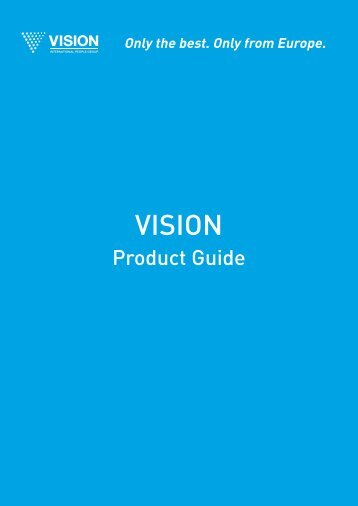 Vision Product Guide 2012 EN 7Mb