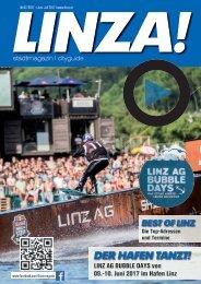 LINZA stadtmagazin Ausgabe#7 – Juni/Juli 2017