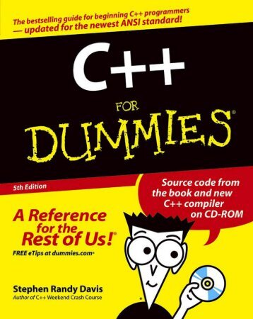 C++ For DUMMIES(1)