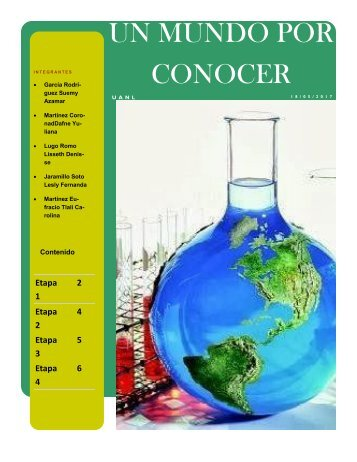 PIA-Química NEXUS UN MUNDO POR CONOCER