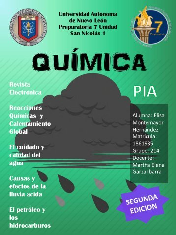 Revista Electronica 2 Quimica by Elisa Montemayor