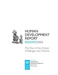 human development report - UNDP Kosovo - United Nations ...