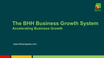 BHH Business Growth System presentation