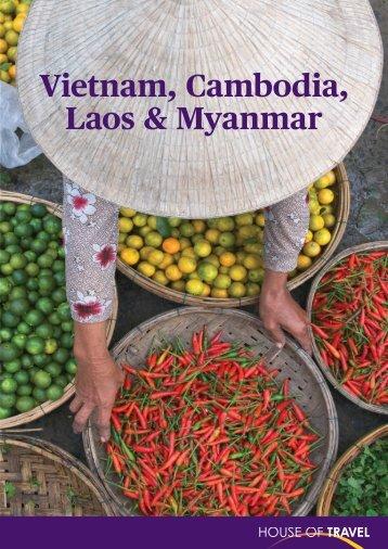Vietnam, Cambodia, Laos & Myanmar Brochure 2017