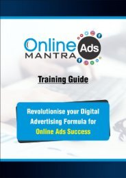 Training Guide_Online Ads Mantra
