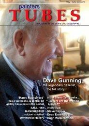painters TUBES magazine.  isssue #3