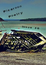 Picaroon Poetry - Issue #8 - May 2017