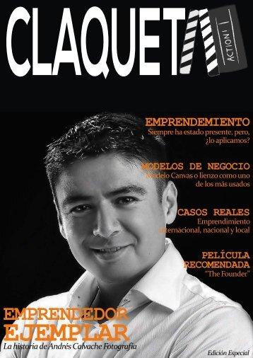 Claqueta - Cindy Tafur_Camilo Alvarez_Didier Alvarez