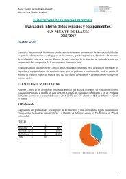 Evaluación interna del centro- actividad 5