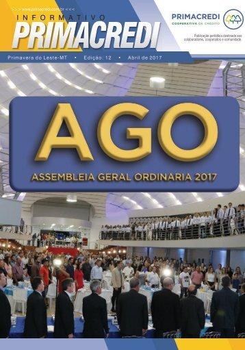 Informativo Primacredi - Edição 12 - Abril 2017