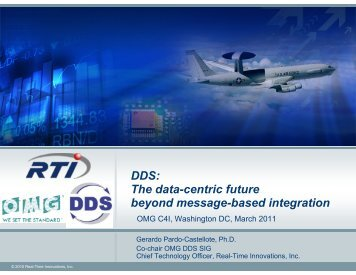 DDS: The data-centric future beyond message-based integration