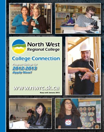 College Connection - North West Regional College