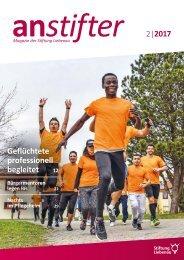 Anstifter 2, 2017 der Stiftung Liebenau