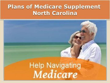 Plans of Medicare Supplement North Carolina