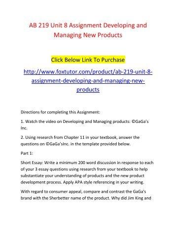 Ab  Unit  Assignment Distribution Strategy Kaplan