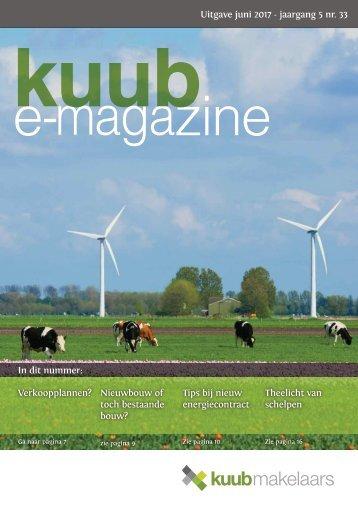 Kuub E-magazine #33, jaargang 5, juni 2017
