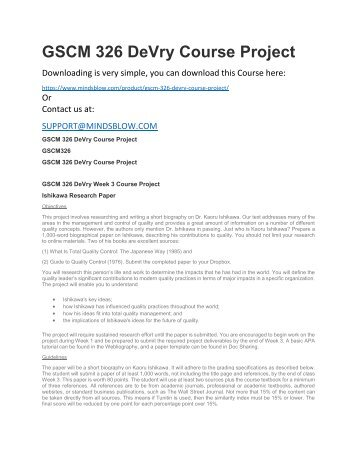 Acct 326 project