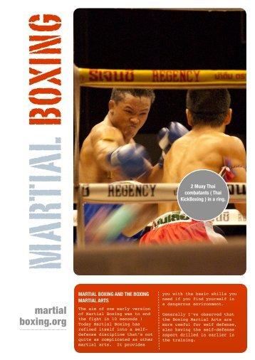 Uncomplicated Self Defense - Martial Boxing