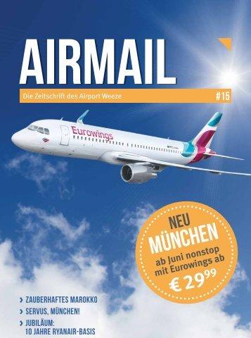 Airmail # 15 - Die Zeitschrift des Airport Weeze