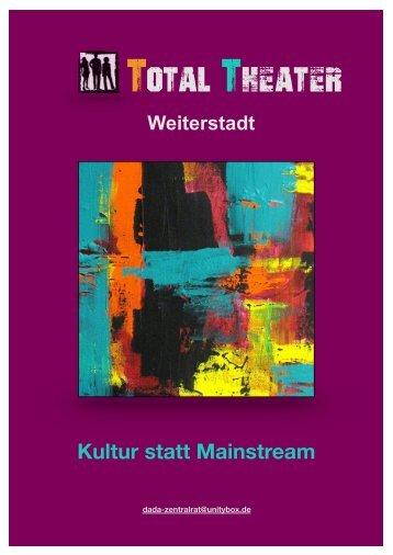 Total-Theater Weiterstadt Broschüre