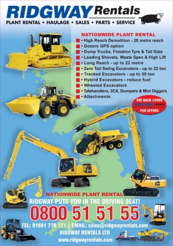 Ridgway Rentals Plant Machinery Guide May 17